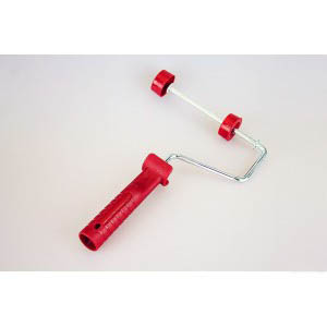 FH010 Roller brush US slip on red handle